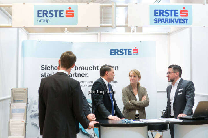 Erste, Erste Group, Erste Sparinvest am Fonds Kongress