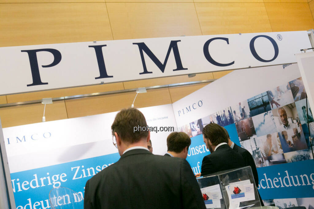Pimco am Fonds Kongress, © Martina Draper/photaq (03.03.2016)