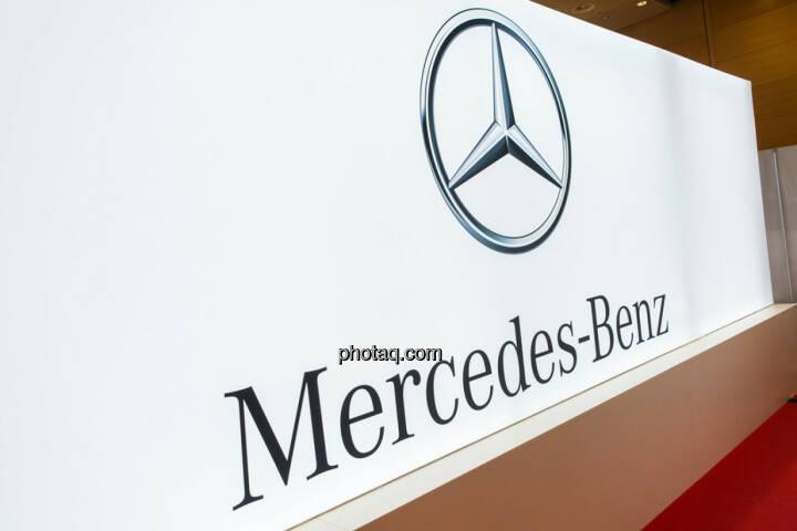 Mercedes am Fonds Kongress