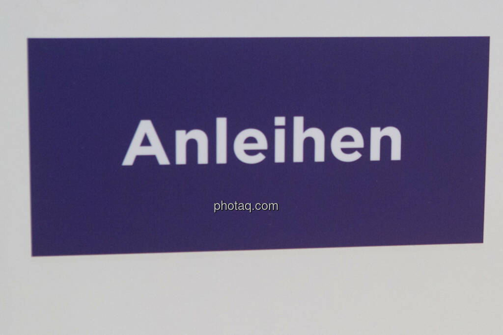 Anleihe, Anleihen, © Martina Draper/photaq (03.03.2016)