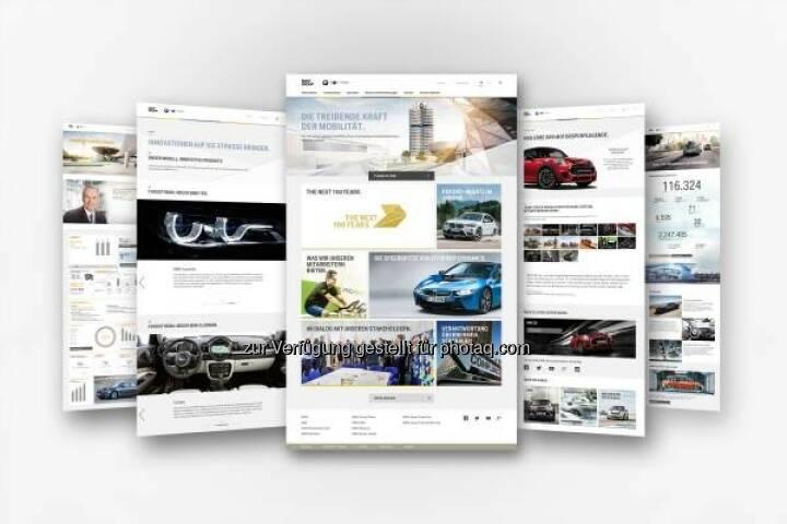 BMW Group erneuert Onlineauftritt www.bmwgroup.com : Überarbeitetes Design mit neuer Bildsprache und zusätzlicher Funktionalität : Optimiert für die Anforderungen einer modernen und zukunftsgerichteten Online-Kommunikation : © BMW Group