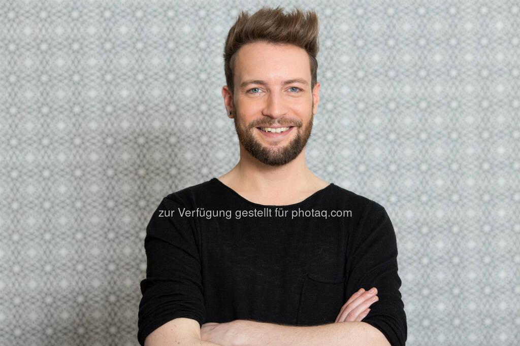 Peter Schreiber (#POP!- Moderator) : Neues Lifestyle-Format auf W24: #POP! Mit Peter Schreiber : Fotocredit: W24/Kawka, © Aussendung (04.03.2016)