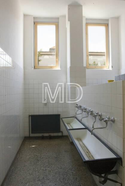 Waschraum, © Martina Draper (06.04.2013)