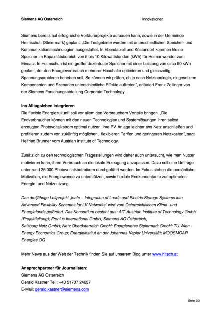 Siemens: Forscher untersuchen Folgen der Verbreitung von kleinen, lokalen Stromspeichereinheiten, Seite 2/3, komplettes Dokument unter http://boerse-social.com/static/uploads/file_739_siemens_forscher_untersuchen_folgen_der_verbreitung_von_kleinen_lokalen_stromspeichereinheiten.pdf (07.03.2016)