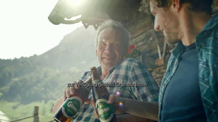 Neue Gösser-Kampagne : Österreichs bestes Bier verbindet Generationen : Fotocredit: Brau Union Österreich