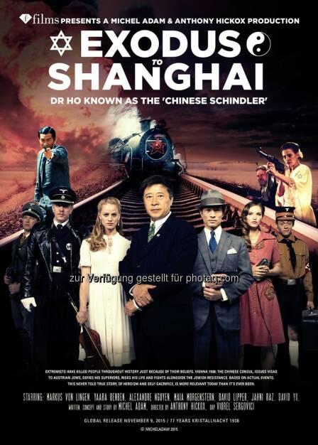 """""""Exodus to Shanghai"""" : Anschluss 12. März 1938 : Film über die jüdische Flucht aus Wien im jüdischen Museum : Fotocredit: Michel Adam Films/Anthony Hickox, © Aussendung (07.03.2016)"""
