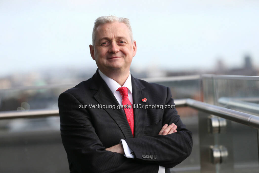Frank O'Donnell neuer Generaldirektor bei Coca-Cola Hellenic Österreich (Foto: Coca-Cola Hellenic), © Aussender (08.03.2016)