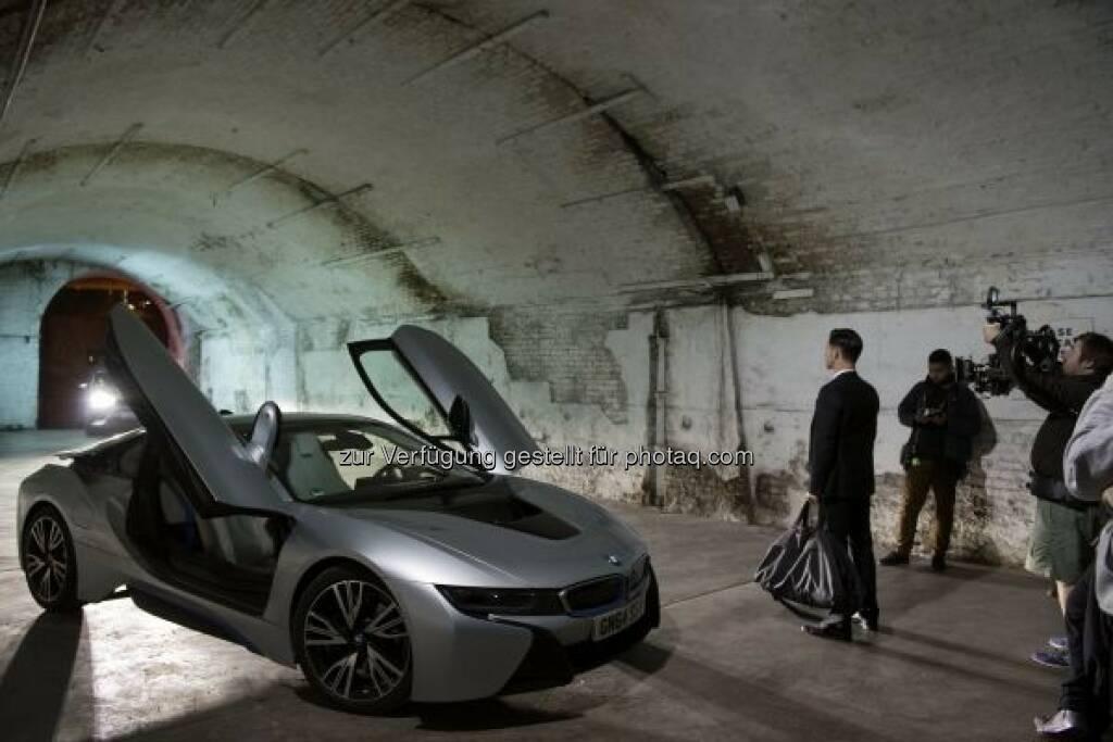 """BMW i8 in """"Late Shift : BMW Group unterstützt außergewöhnliches Filmprojekt """"Late Shift"""" : Interaktives Kino-Erlebnis zum Mitentscheiden : © BMW Group, © Aussendung (10.03.2016)"""