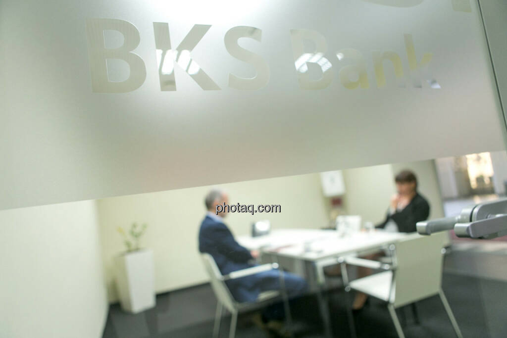 BKS-Bank, © Martina Draper/photaq (10.03.2016)