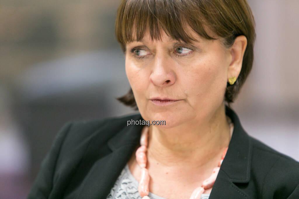 Herta Stockbauer (Vorstand BKS-Bank), © Martina Draper/photaq (10.03.2016)