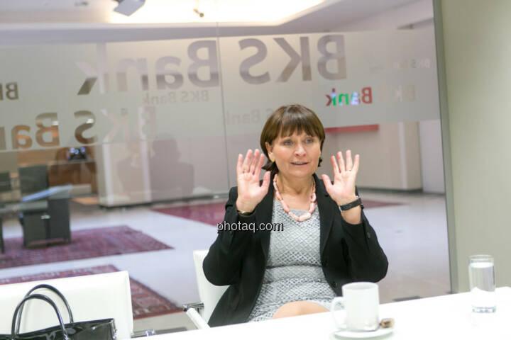 Herta Stockbauer (Vorstand BKS-Bank)