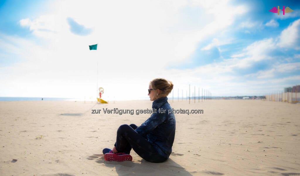 Anna Hahner, Strand, Sonne, relax, Ausblick, Meditation, &copy; <a href=