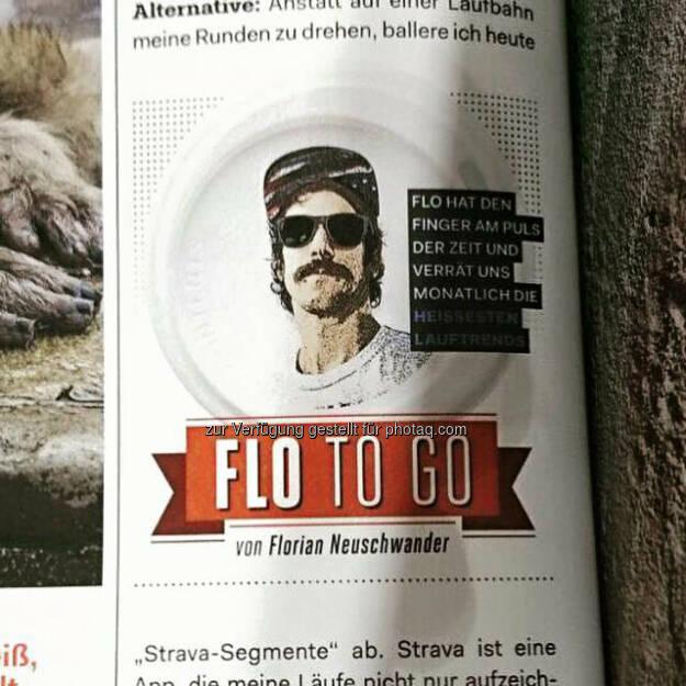Florian Neuschwander, Kolumne Runner's World Deutschland, © Florian Neuschwander (11.03.2016)