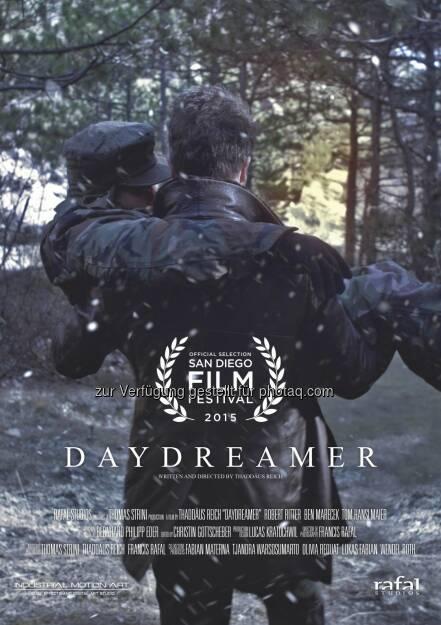 """Daydreamer (Plakat) : Online-Premiere für österreichischen Kriegskurzfilm Daydreamer"""" - wird nach einem erfolgreichen Festivallauf im Internet veröffentlicht : Ab 22. März 2016 ist das 19-minütige Kriegsdrama auf der Streaming-Plattform www.reelhouse.org verfügbar : Fotocredit: Rafal Studios KG/Sam, © Aussendung (15.03.2016)"""