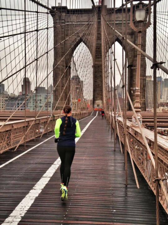 Monika Kalbacher, Brücke, laufen, NYC