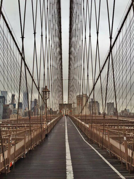 New York City, USA, Brücke (15.03.2016)
