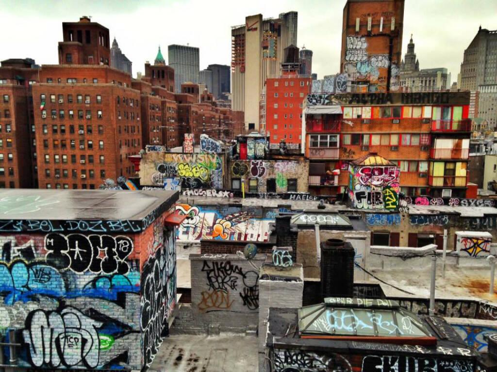 NYC, New York City, USA, Graffity (15.03.2016)