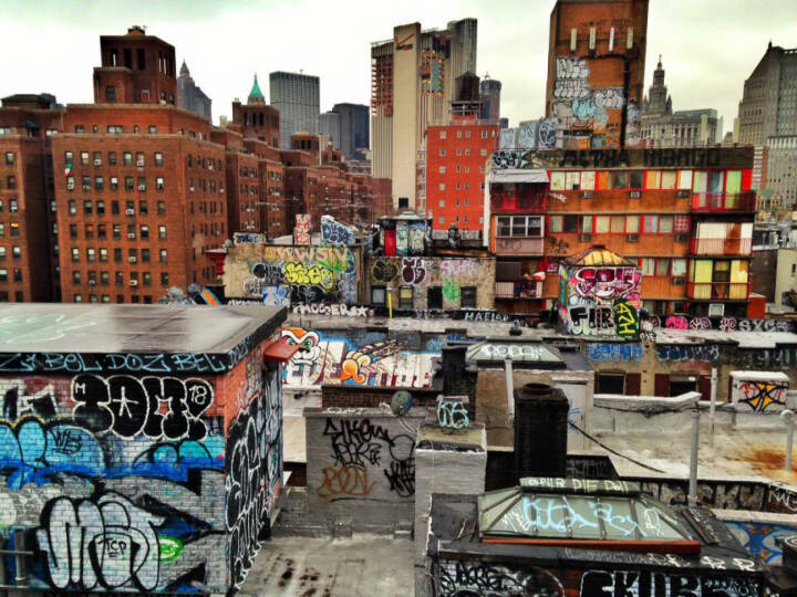 NYC, New York City, USA, Graffity