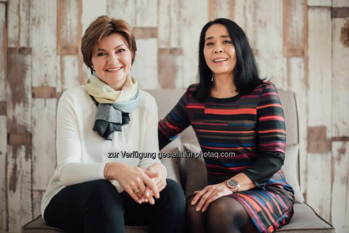 Yvonne Werginz, Jutta Wallner : 5 Jahre Wohn.Fee in Wien und Graz : Home Staging – Räume ins beste Licht gerückt : Fotocredit: Wohn.Fee