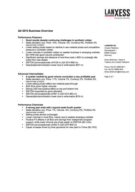 Lanxess Q4 2015, Seite 2/7, komplettes Dokument unter http://boerse-social.com/static/uploads/file_794_lanxess_q4_2015.pdf (17.03.2016)