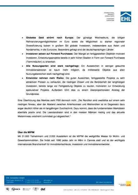 EHL Immobilien Presseaussendung zur MIPIM in Cannes, Seite 2/3, komplettes Dokument unter http://boerse-social.com/static/uploads/file_800_ehl_immobilien_presseaussendung_zur_mipim_in_cannes.pdf (17.03.2016)