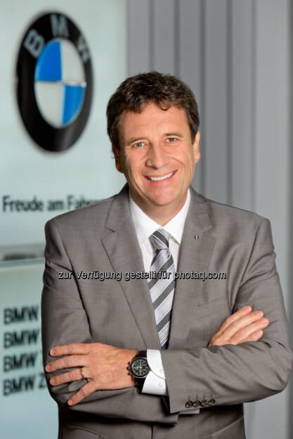 Kurt Egloff : Veränderung in der Geschäftsführung der BMW Austria GmbH : Kurt Egloff wechselt mit 1.5.2016 in die Geschäftsführung der BMW Group Schweiz (President & CEO) : © BMW Group, © Aussendung (18.03.2016)