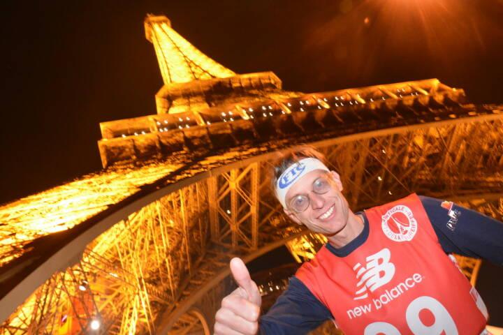 Paris: FTC-Mann stürmt Eiffelturm, 80. Gebäude im 121. Treppenlauf