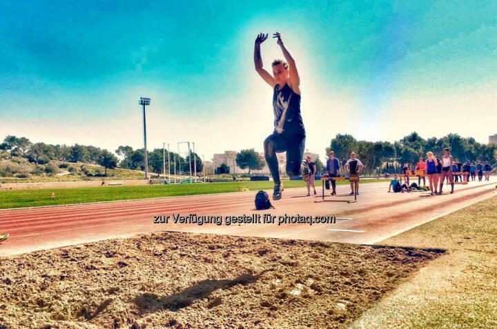 Christina Kiffe, Weitsprung, Sprung, Jump