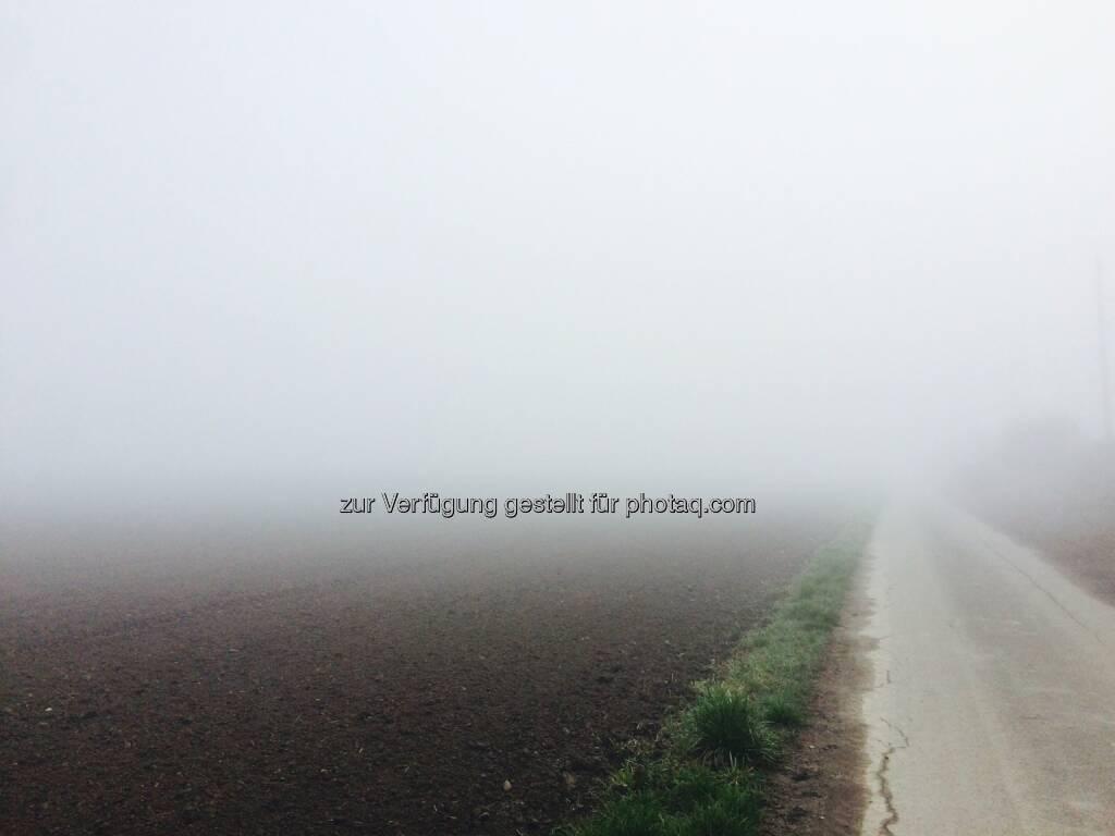 Nebelsuppe beim Start (24.04.2016)