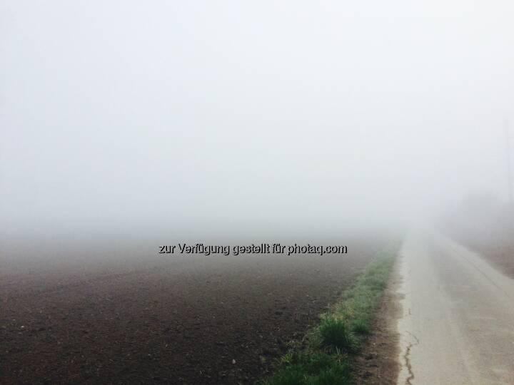 Nebelsuppe beim Start