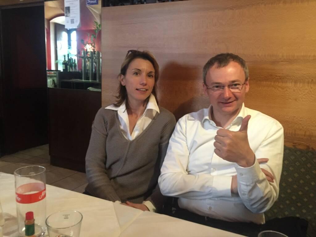 Mit Alexandra Baldessarini und Fritz Strobl über spannende Zukunftsthemen (30.03.2016)