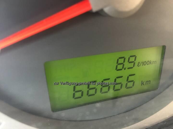 66666 Km hat mein Auto geleistet