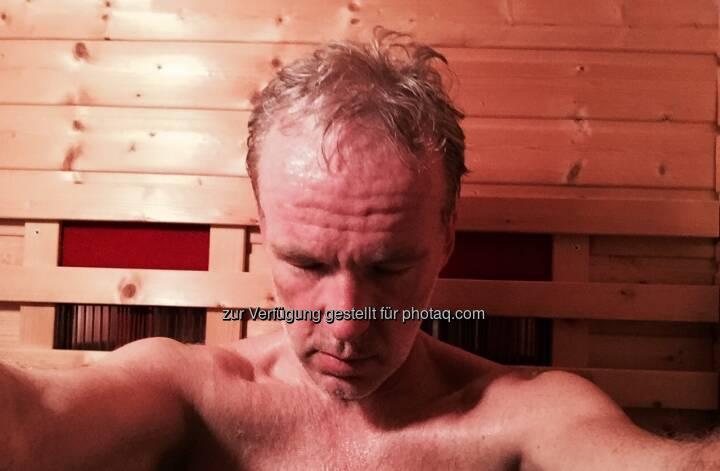 Nach Run Sauna
