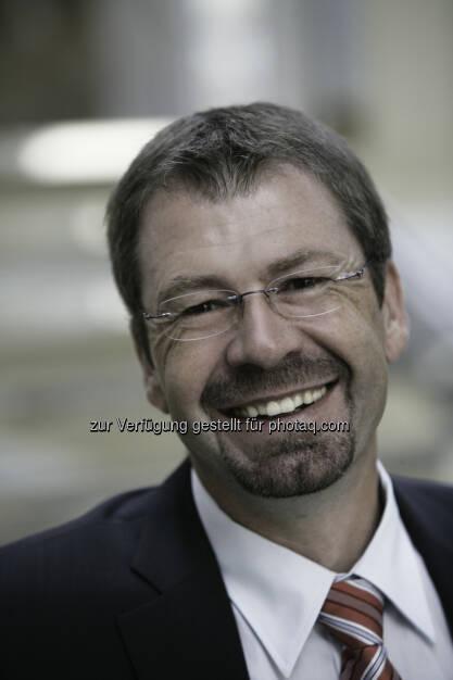Siegfried Spanz : Erneut als Geschäftsführer der FH Kärnten bestätigt : Fotocredit: FH Kärnten/Bergauer, © Aussender (04.04.2016)