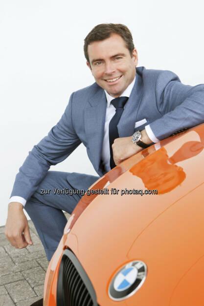 Chris Collet : Ab 1.5.2016 neuer Geschäftsführer der BMW Austria GmbH : © BMW Group, © Aussendung (04.04.2016)