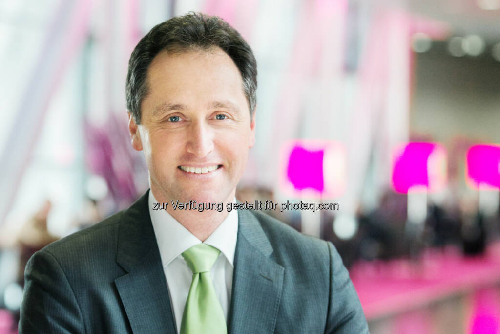 Werner Kraus : Neuer Bereichsleiter Business & Wholesale (Senior Vice President) T-Mobile Austria : Fotocredit: T-Mobile/König, © Aussendung (05.04.2016)