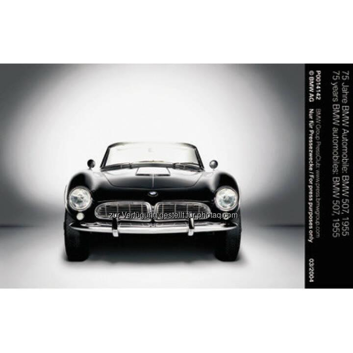 """BMW 507, 1955 : BMW ist erfolgreichste Marke beim """"Motor Klassik Award"""" 2016 : Leser des Fachmagazins """"Motor Klassik"""" küren den BMW 507 und den BMW M1 zu den herausragenden Automobilen ihrer jeweiligen Epoche : Fotocredit: © BMW Group"""