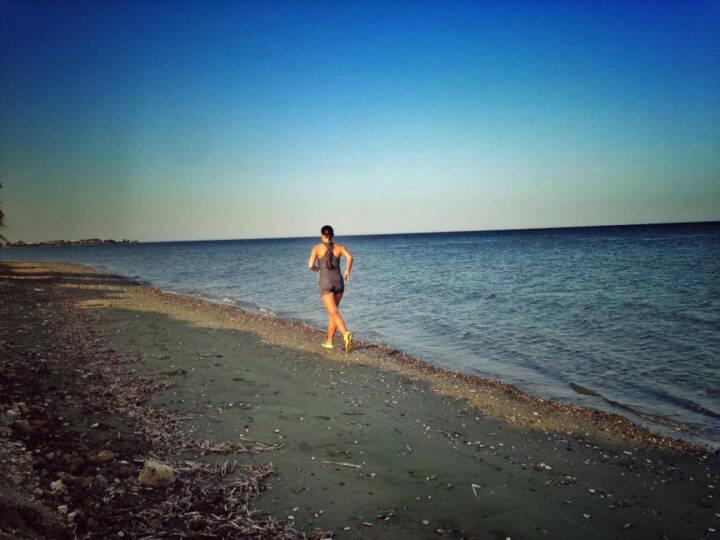 Monika Kalbacher, Strand