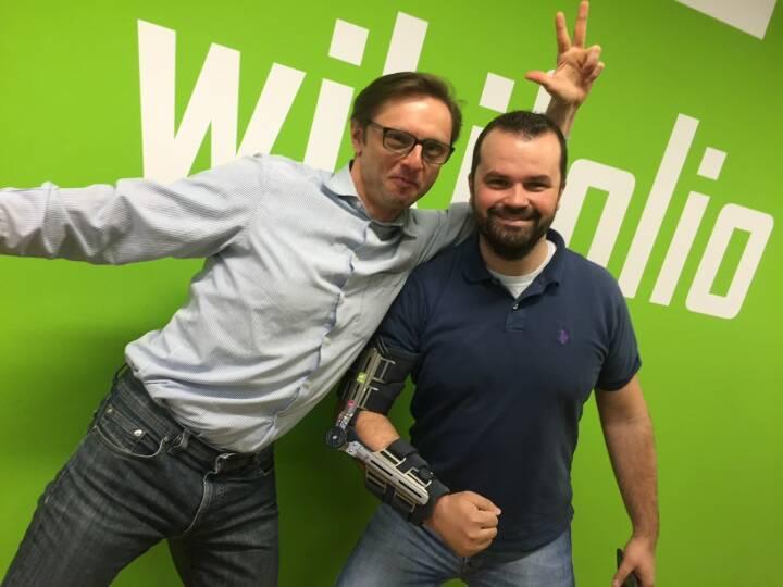 Yes! Andreas Kern und Stefan Greunz, wikifolio