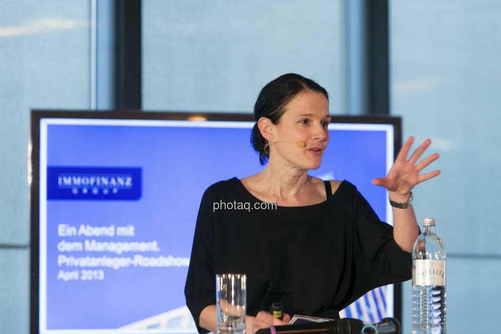 Bettina Schragl (Head of Corporate Communication Immofinanz), http://privatanleger.immofinanz.com , © Martina Draper für Immofinanz (10.04.2013)