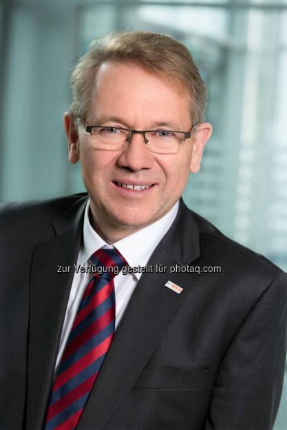 Klaus Peter Fouquet : Neuer Präsident der Wissensfabrik Österreich : Fotocredit: Bosch/Marius Höfinger, © Aussender (11.04.2016)