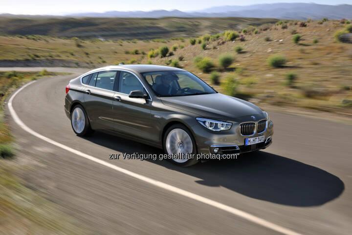 Der BMW 5er Gran Turismo (Luxury Line) : Zwei Millionen verkaufte Fahrzeuge : Die BMW 5er Reihe ist das erfolgreichste Businessmodell der Welt. Seit sechs Jahren Bestseller und Seriensieger bei Leser- und Expertenwahlen : © BMW Group