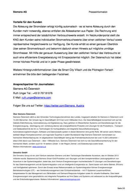 Siemens: Smart-Metering-Infrastruktur für Kärnten und Stadt Kapfenberg, Seite 3/3, komplettes Dokument unter http://boerse-social.com/static/uploads/file_874_siemens_smart-metering-infrastruktur_fur_karnten_und_stadt_kapfenberg.pdf (12.04.2016)