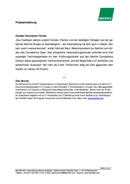 Bechtle: Neue Rekordmarke beim Competence Day, Seite 2/2, komplettes Dokument unter http://boerse-social.com/static/uploads/file_873_bechtle_neue_rekordmarke_beim_competence_day.pdf (12.04.2016)