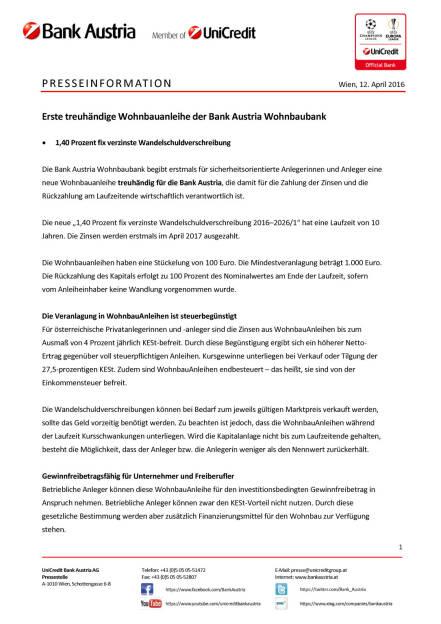 Bank Austria: Erste treuhändige Wohnbauanleihe der Bank Austria Wohnbaubank, Seite 1/3, komplettes Dokument unter http://boerse-social.com/static/uploads/file_872_bank_austria_erste_treuhandige_wohnbauanleihe_der_bank_austria_wohnbaubank.pdf (12.04.2016)