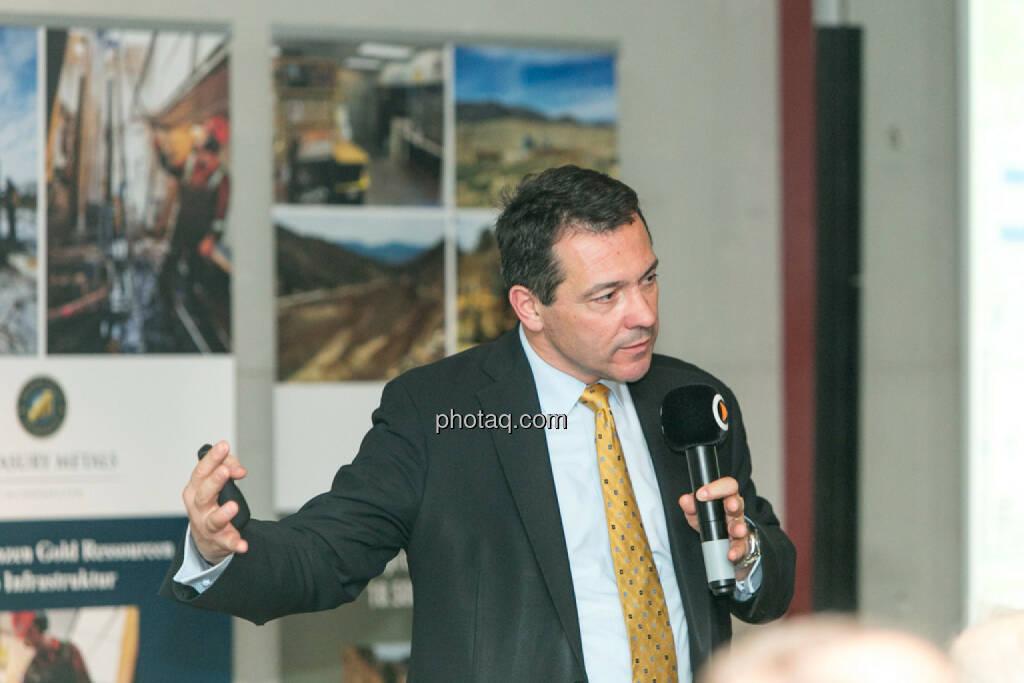 Corrado de Gasperis (Comstock Mining), © Martina Draper/photaq (14.04.2016)