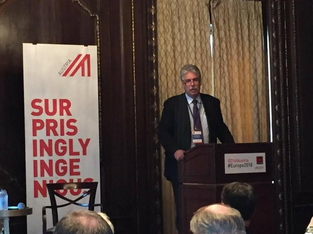 Hans Jörg Schelling beim 21st Austria Event in NYC (Bild: Verena Nowotny) (14.04.2016)