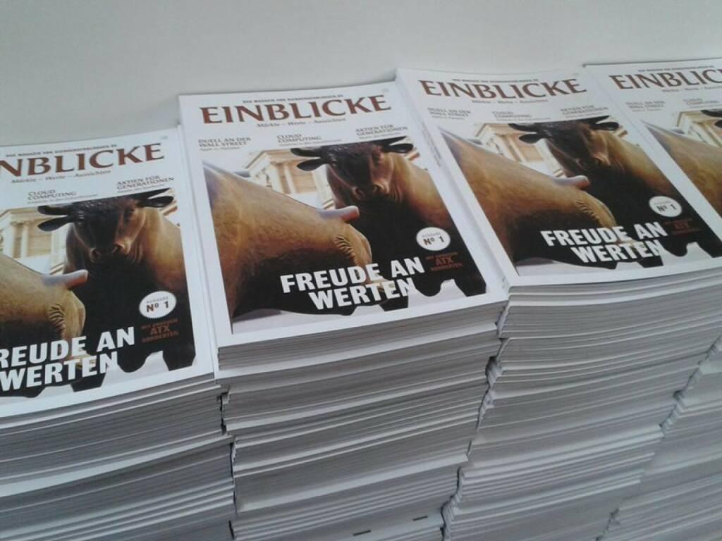 Das Finanzmagazin Einblicke startet zur Invest in Stuttgart (14.04.2016)