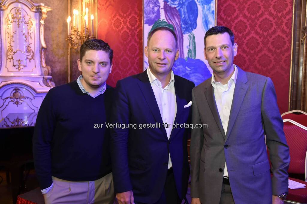 Thomas Kroupa, Thomas Knechtsberger, Mark Schilling, ©  leisure.at/Christian Jobst (15.04.2016)