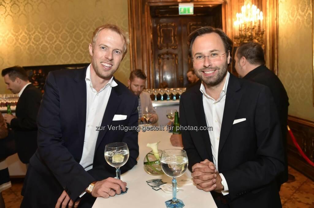 Jurist Christoph Erler, Unternehmensberater Axel Ganster, ©  leisure.at/Christian Jobst (15.04.2016)